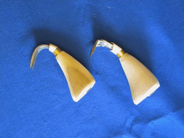 「荷役・港湾用手かぎ」2本爪東神型・2本爪袋かぎ