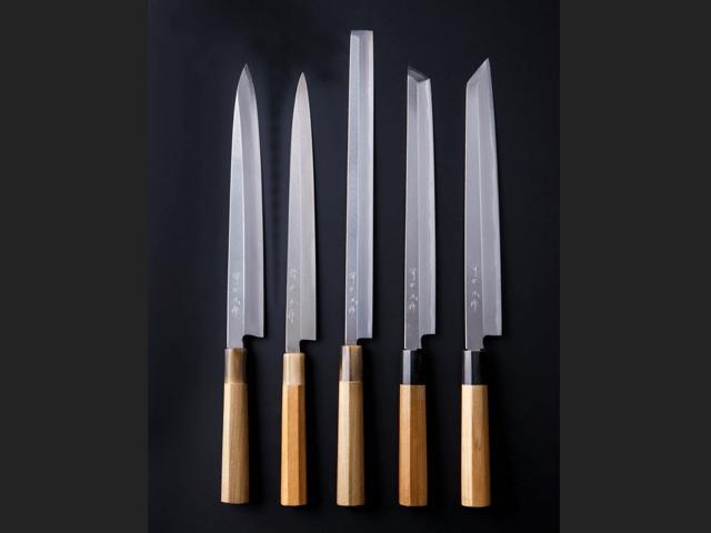 「和包丁」刺身包丁の種類