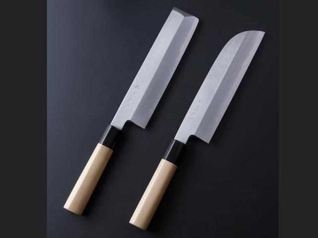 「和包丁」鎌型薄刃包丁・薄刃包丁